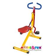 Тренажер детский - велотренажер (наездник) Moove&Fun, фото 1