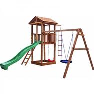 Детская площадка МОЖГА СПОРТИВНЫЙ ГОРОДОК 1 С КАЧЕЛЯМИ, фото 1
