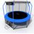 I-JUMP ELEGANT 12FT BLUE, фото 3